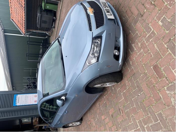 Chevrolet Cruze 1.6 16V Samochód złomowany (2011, Jasny, Niebieski)
