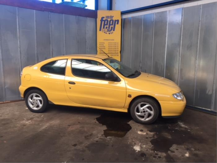 W Ultra Renault Megane Coupé (DA) 1.6i (salvage, year of construction 1997 XD86