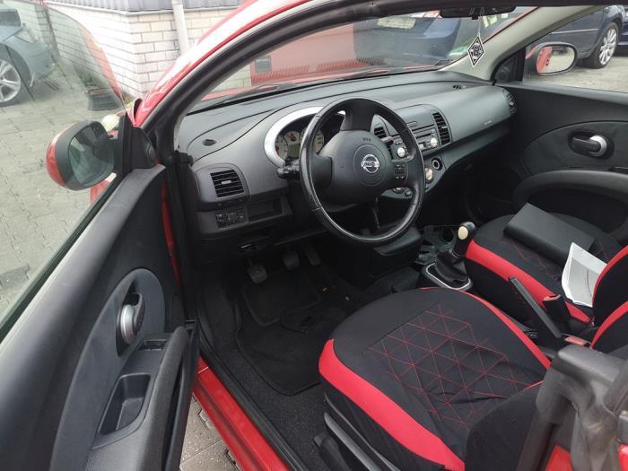 Nissan Micra 1.4 16V Schrottauto (2005, Rot)