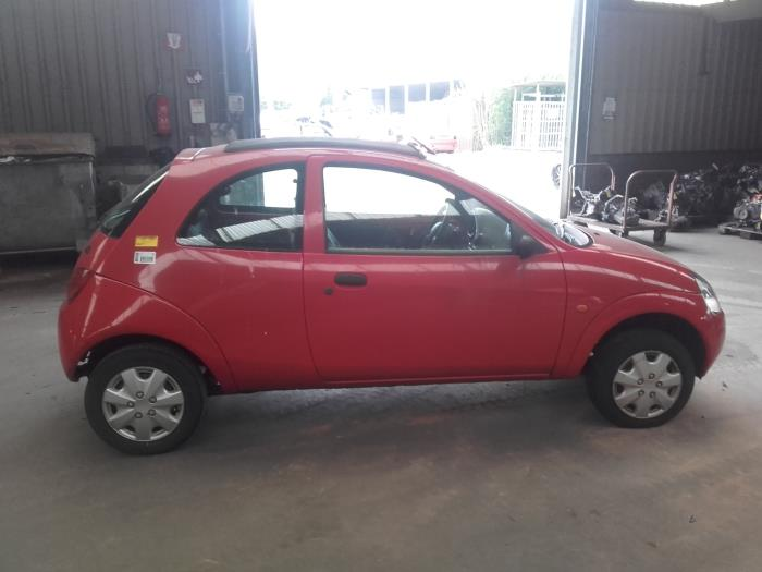 Ford Ka I  I Salvage Year Of Construction  Colour Red