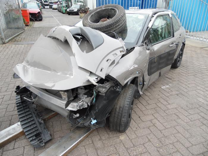 Citroen C4 Cactus  Salvage  Year Of Construction 2015  Colour Brown