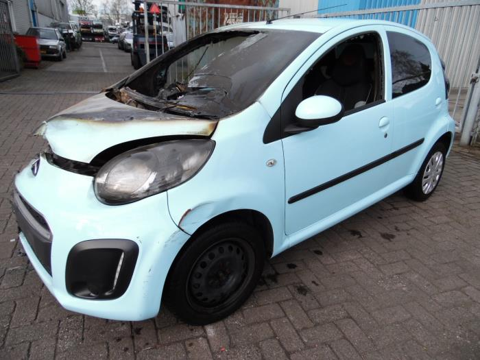 Nieuw Citroën C1 1.0 12V (salvage, year of construction 2012, colour UA-86