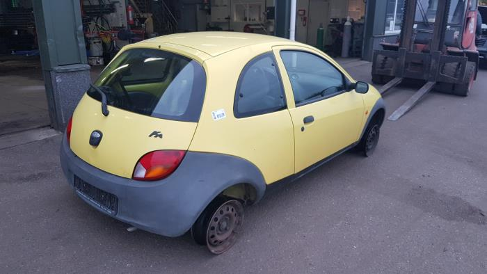 Ford Ka I  I Salvage Year Of Construction  Colour Yellow Proxyparts Com