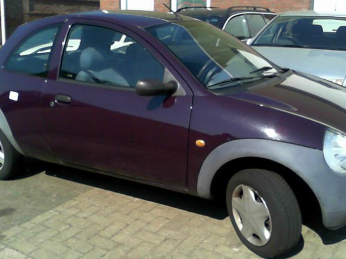 Ford Ka I  I Salvage Year Of Construction  Colour Purple