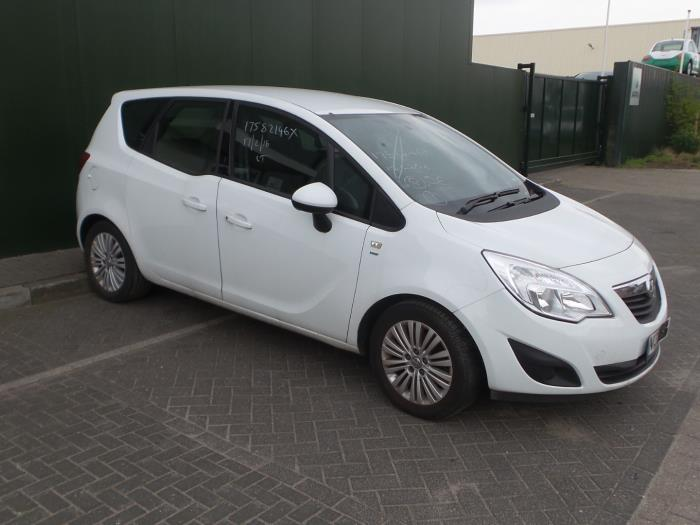 Opel Meriva 14 16v Ecotec Salvage Year Of Construction 2014