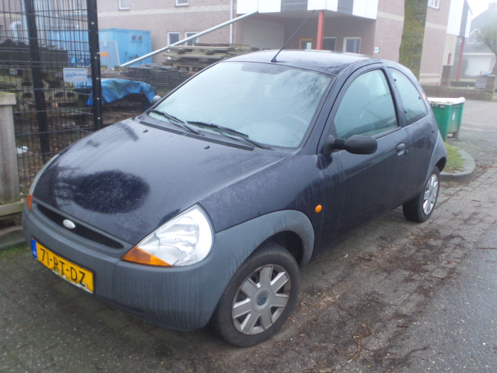 Ford Ka I  I Salvage Year Of Construction  Colour Blue