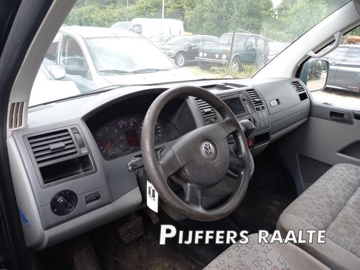 Volkswagen Transporter T5 2.5 TDi PF Salvage vehicle (2008, Black)