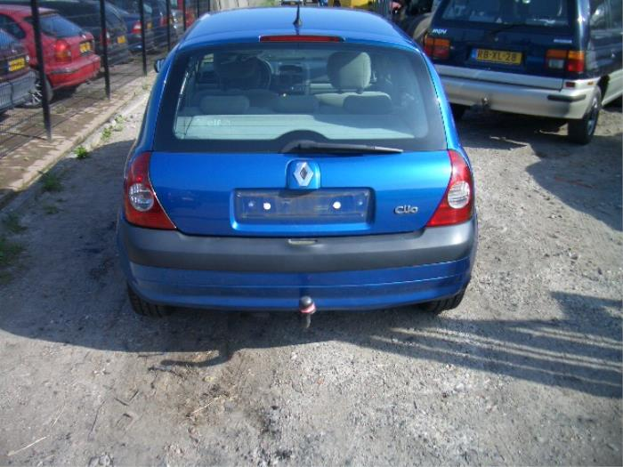 Renault Clio Ii  Bb  Cb  Sb  1 6 16v  Salvage  Year Of Construction 2005  Colour Blue
