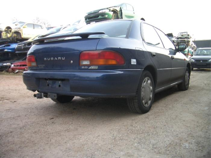 Subaru Impreza I  Gc  2 0i Gl Awd 16v 4x4  Salvage  Year