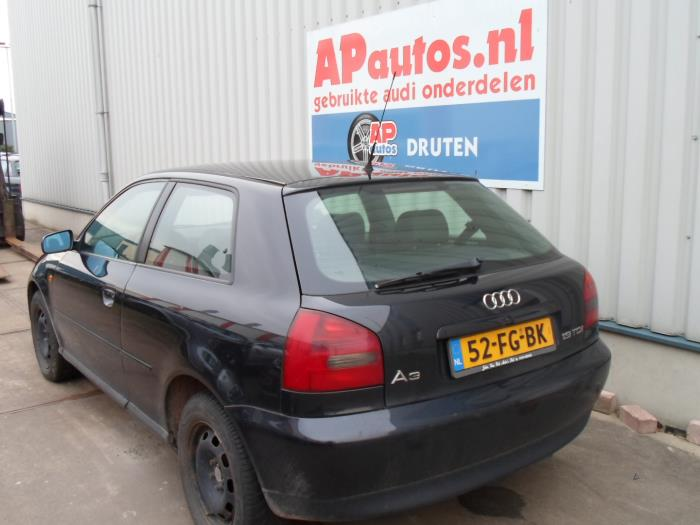Audi A3  8l  1 9 Tdi 110  Salvage  Year Of Construction 2000  Colour Black