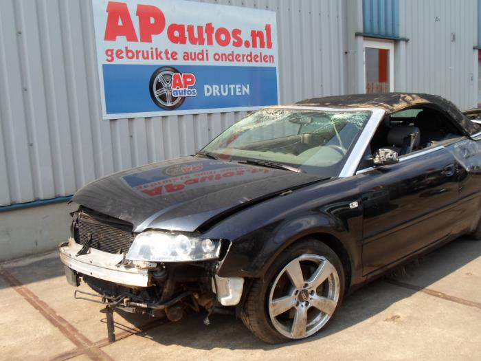 Audi A4 Cabriolet 8h78he 24 V6 30v Salvage Year Of
