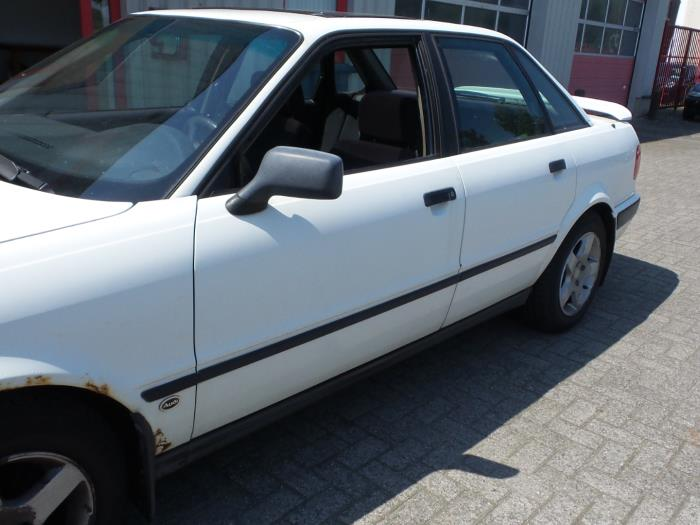 audi 80 (b4) 2.0 e (salvage, year of construction 1992, colour white