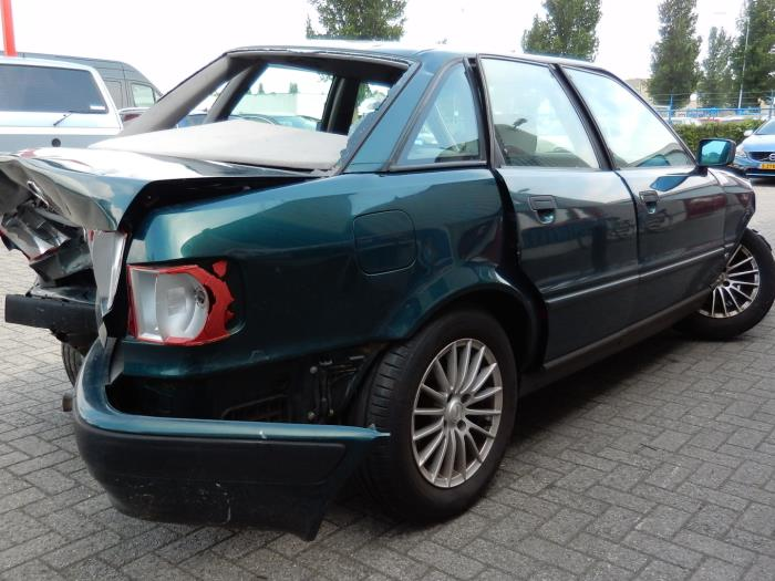 audi 80 (b4) 2.0 e (salvage, year of construction 1993, colour green