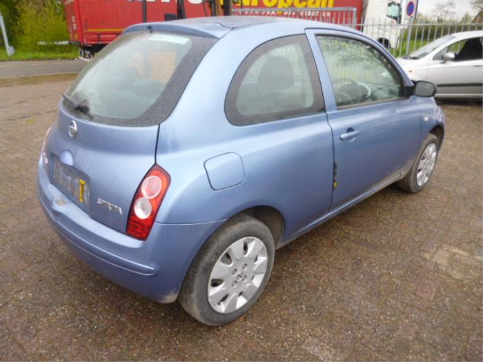 Nissan Datsun Micra K12 12 16v Salvage Year Of Construction