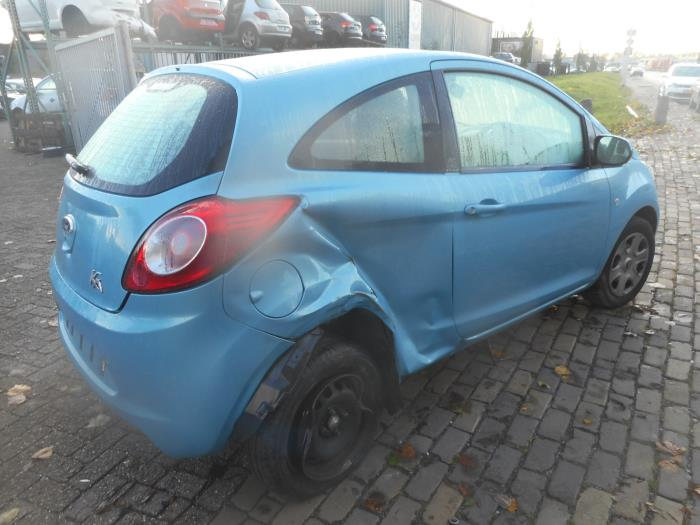 Ford Ka Ii   Damaged Year Of Construction  Colour Blue