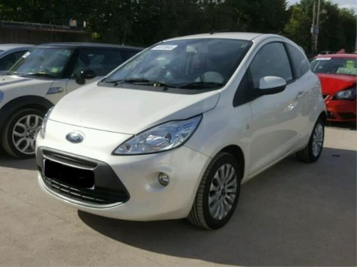 Ford Ka Ii   Damaged Year Of Construction  Colour Metallic White
