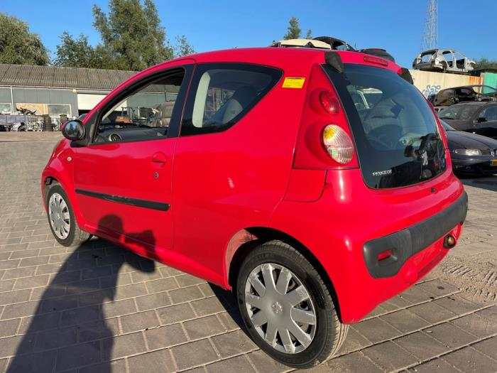 Peugeot 107 1.0 12V Salvage vehicle (2008, Red)