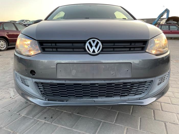 Volkswagen Polo 1.2 12V Salvage vehicle (2010, Gray)