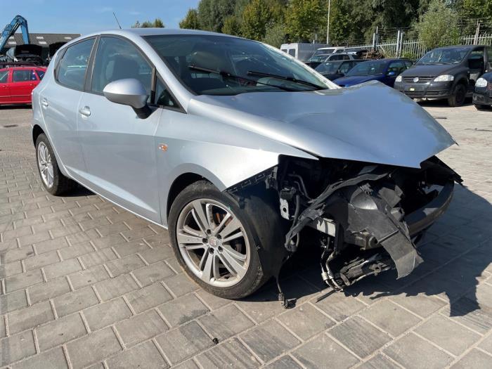 Seat Ibiza IV 1.4 16V Salvage vehicle (2008, Gray)